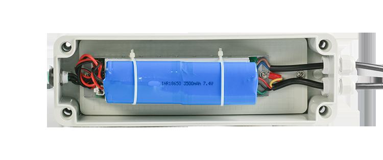 Waterproof LED emergency box