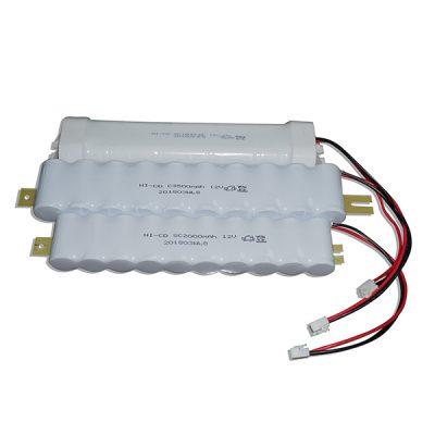 Battery Pack for LED emergency kits