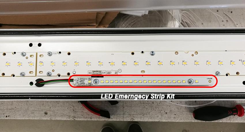 tri-proof emergency battery kit