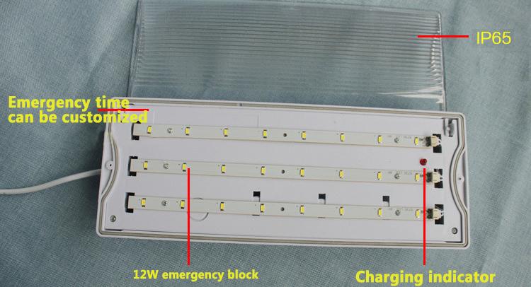 LED emergency block